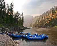 Main Salmon River Rafting Trip