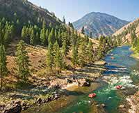 Middle Fork Salmon River Rafting Trip