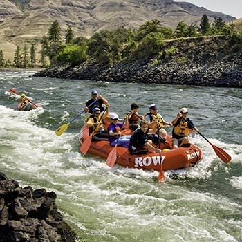 Types of Rafts on the Lower Salmon River