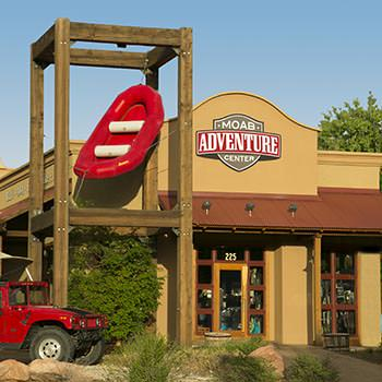 Western's Moab Adventure Center on 225 South Main Street in Moab, Utah