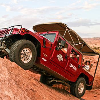 Explore the Backcountry by Hummer