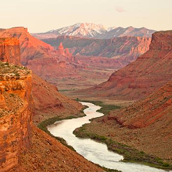 Colorado River in Moab Picture