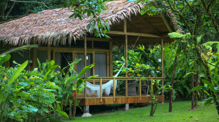 Pacuare Lodge along the Pacuare River