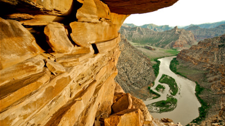 Green River in Desolation Canyon