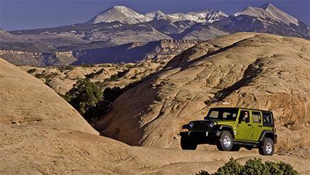 Moab Jeep Rentals