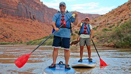 Colorado River Stand Up Paddleboarding