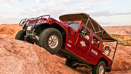 Hummer Safari on Hell's Revenge Trail