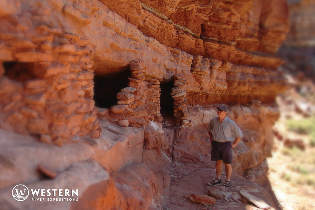 Ancient granaries in Cataract Canyon