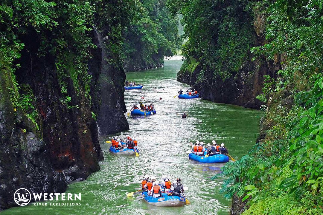 Costa Rica Vacation Package Gorge Rafts