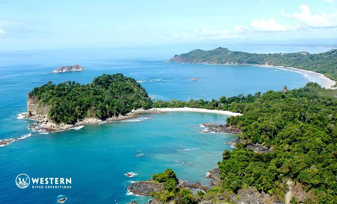 Costa Rica Vacation Package Mauel Antonio Coast Arial