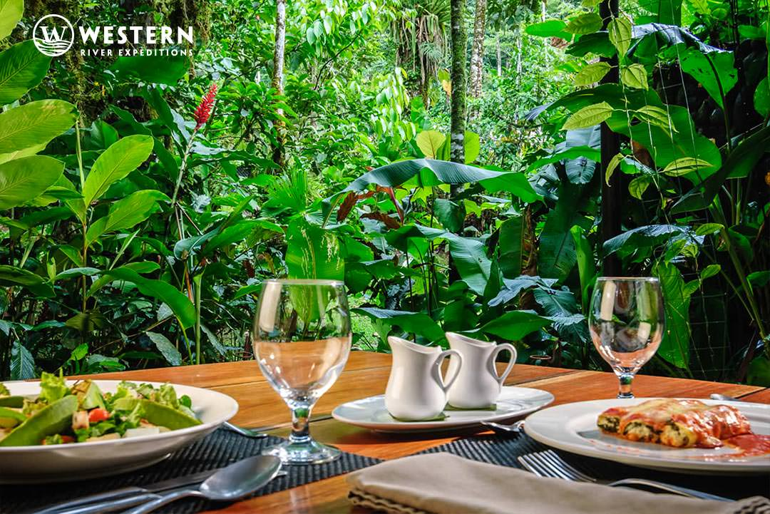 Costa Rica Vacation Package Pacuare Lodge Dinner