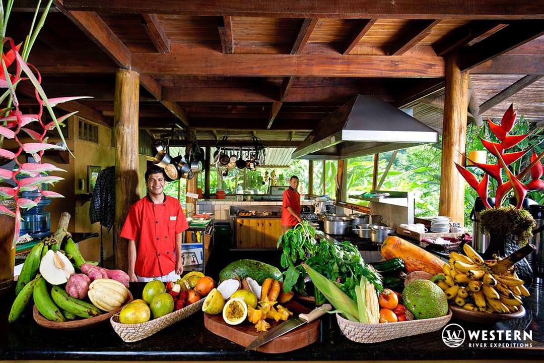 Costa Rica Vacation Package Pacuare Lodge Food