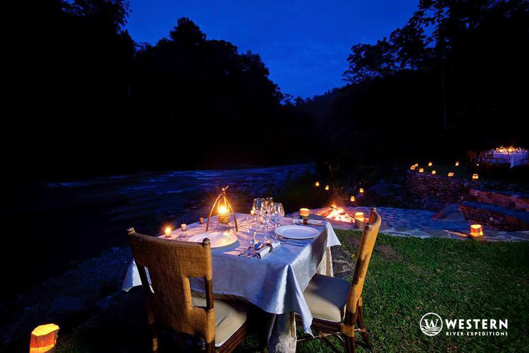 Costa Rica Vacation Package Pacuare Lodge Outdoor Dining