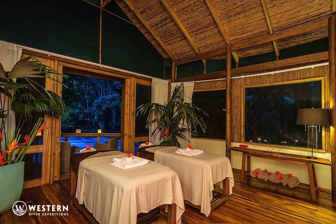 Costa Rica Vacation Package Pacuare Lodge Spa Massage