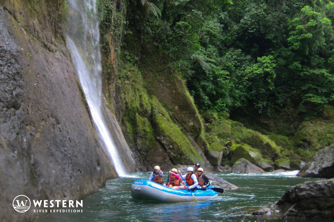 Costa Rica Vacation Package Raft Waterfall