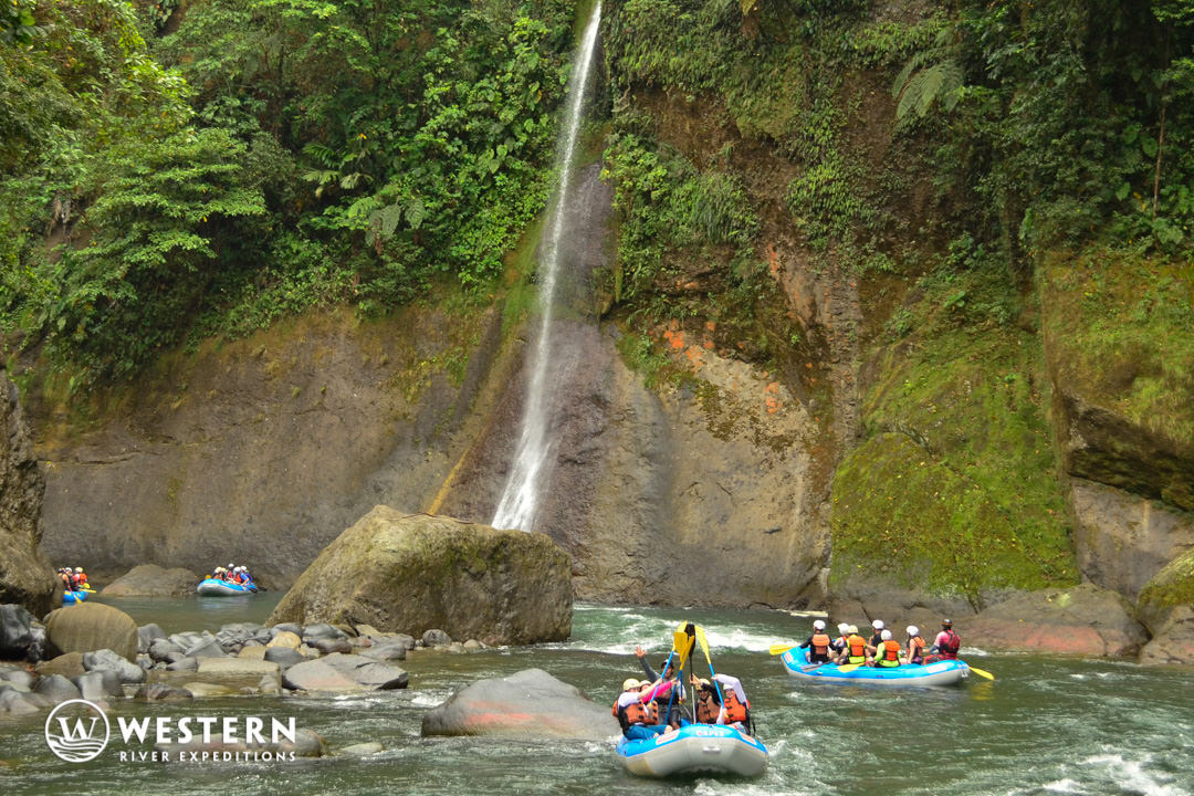 Costa Rica Vacation Package Rafts Falls 2