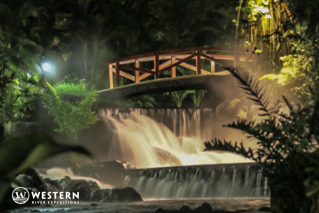 Costa Rica Vacation Package Stream Night Bridge