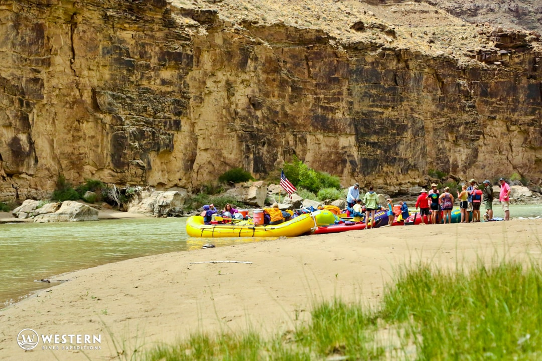 Desolation Canyon Utah Rafting Beach