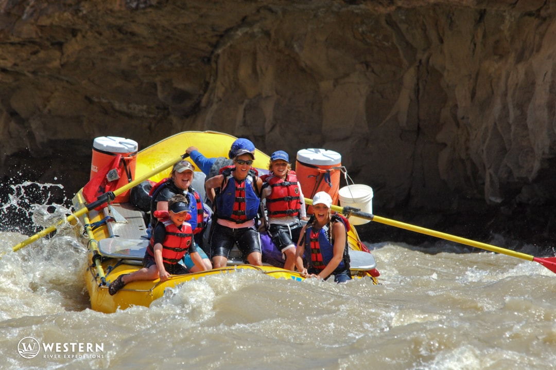 Desolation Canyon Utah Rafting Family