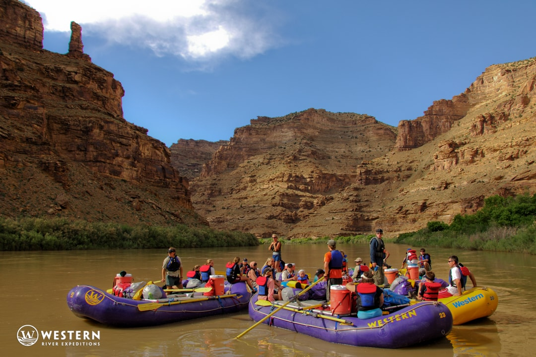 Desolation Canyon Utah Rafting Flotilla