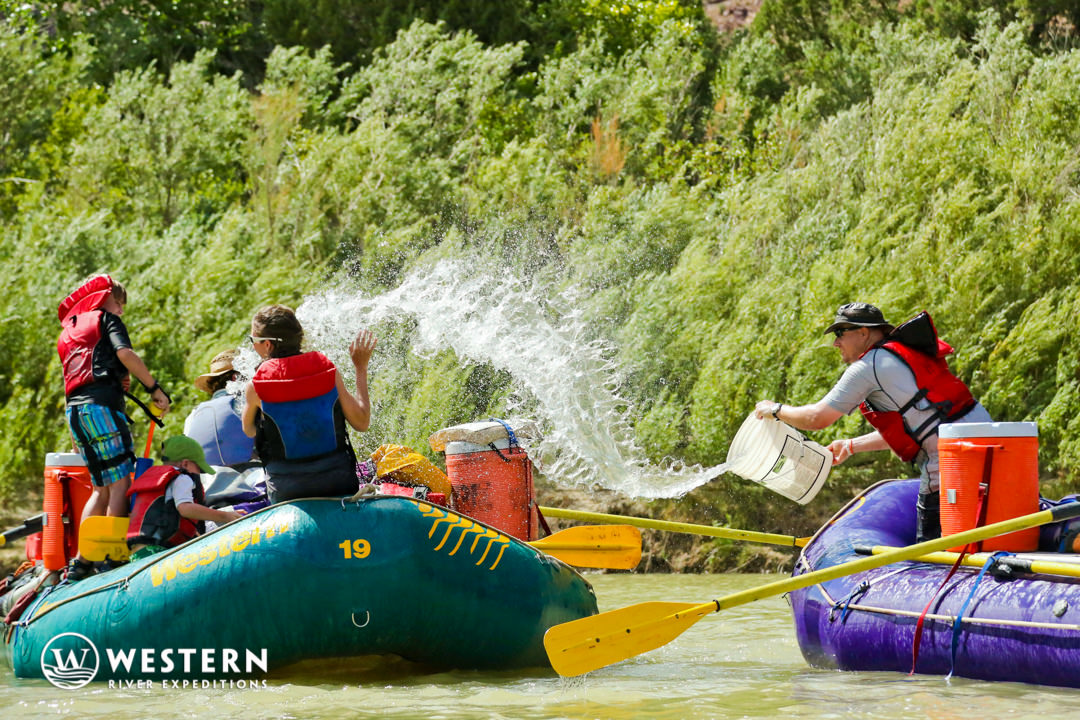 Desolation Canyon Utah Rafting Waterfight