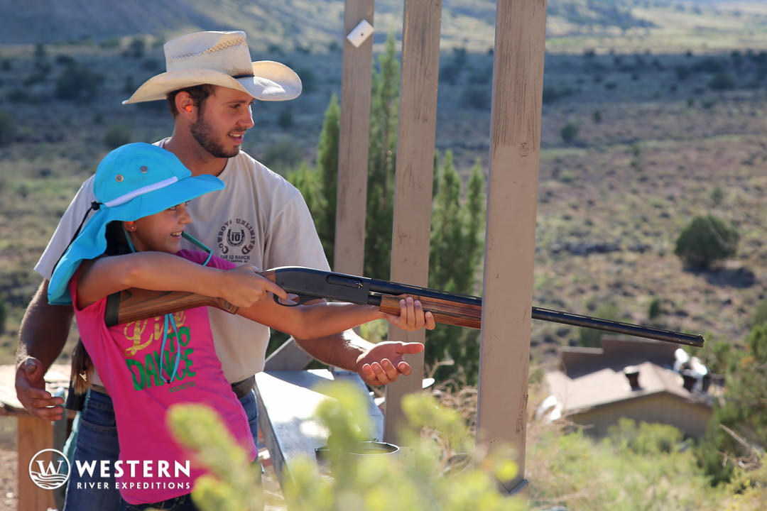 Skeet Shooting at Bar 10 Ranch