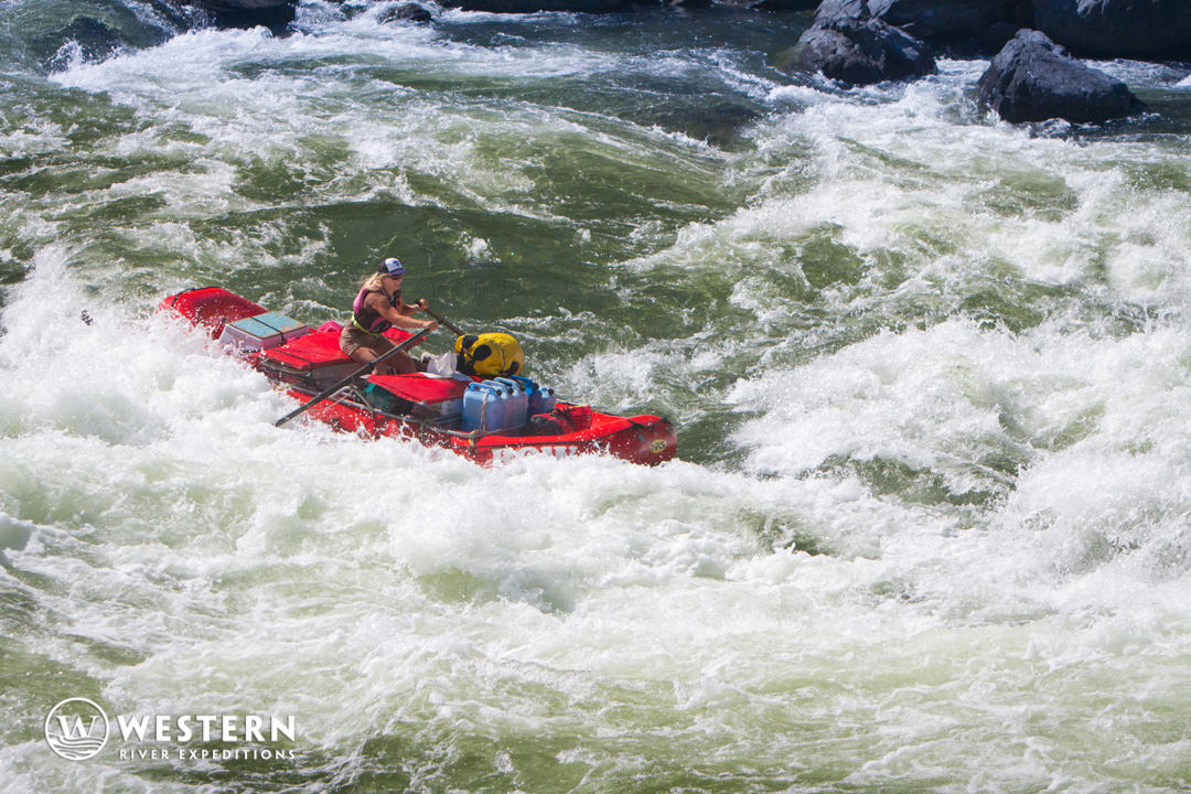 Whitewater on Snake River