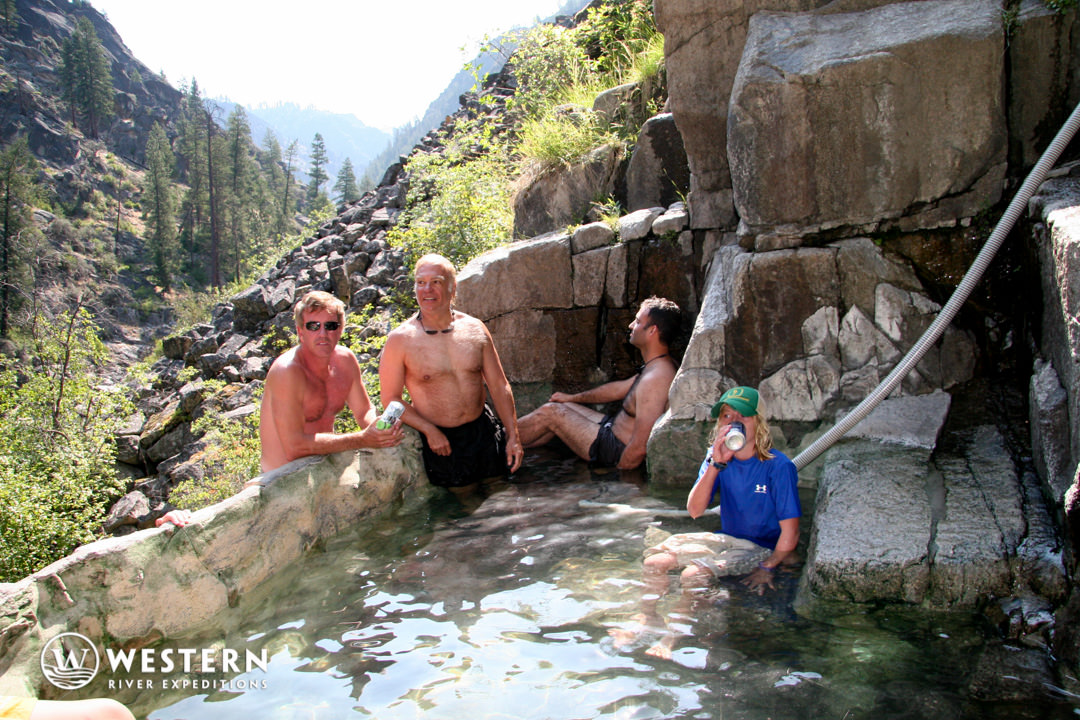 Barth Hot Springs on the on the Main Salmon River