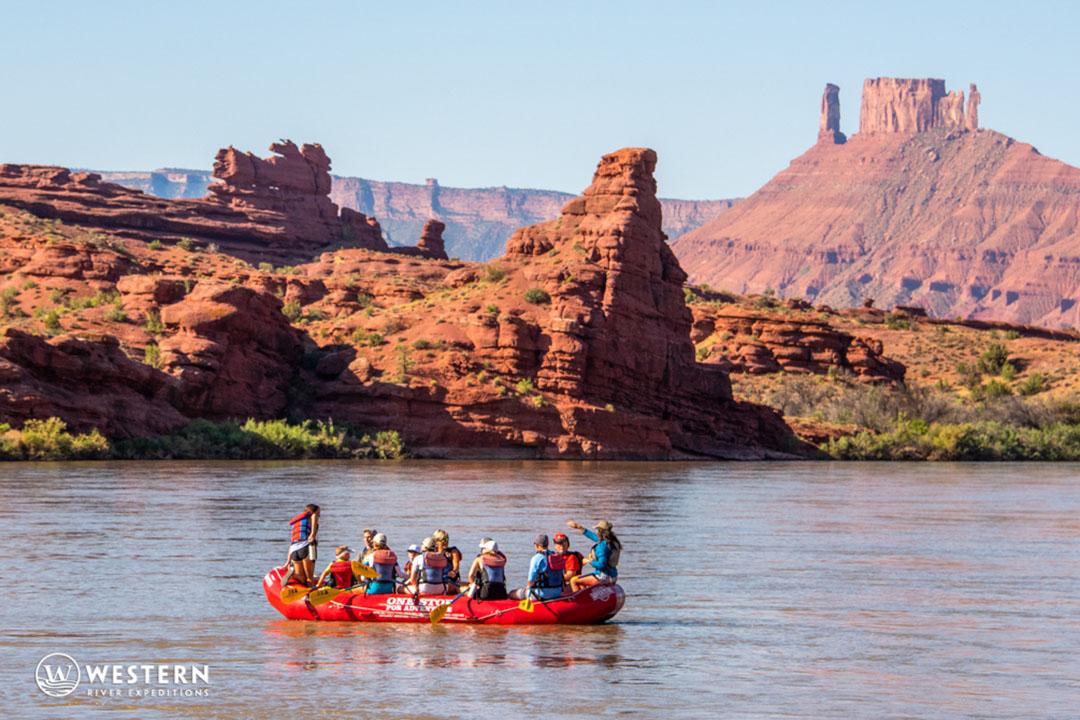 Camping along the Colorado River