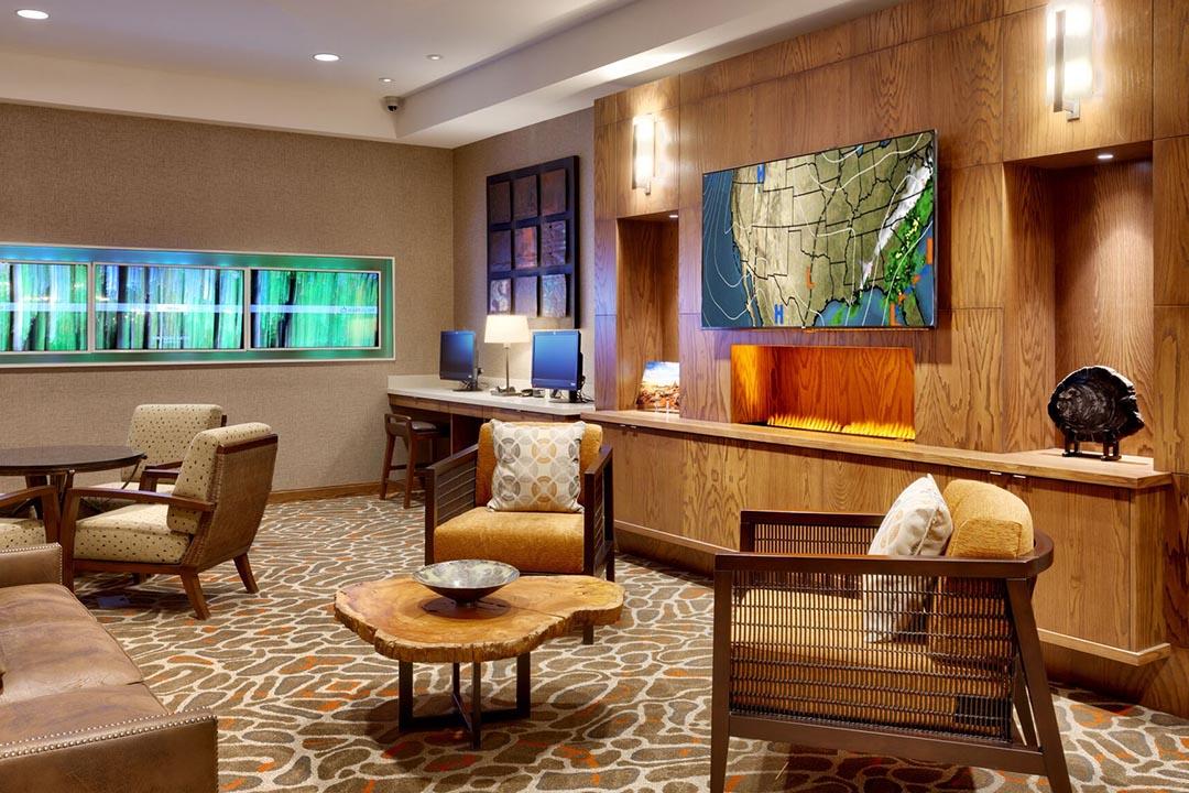 Moab Utah vacation Marriott Springhill lobby