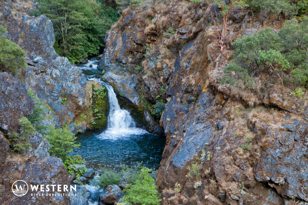 Rogue River Rafting Hidden Waterfall