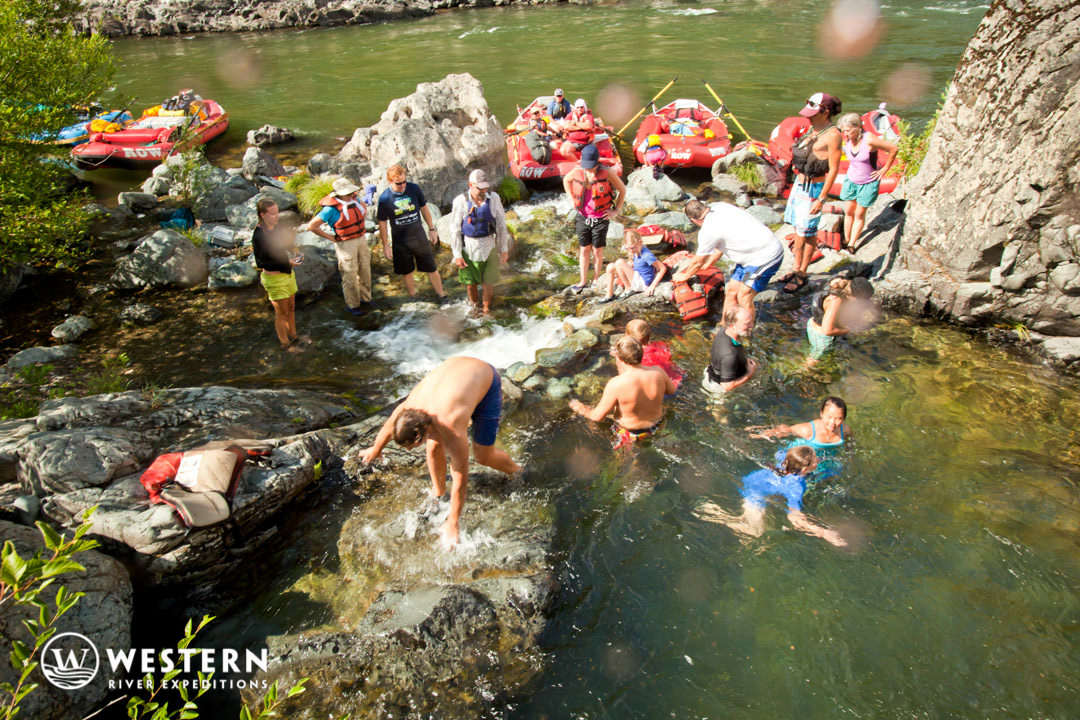 Rogue River Rafting Hotsprings
