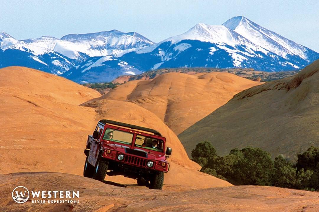 Moab Utah LaSal Mountains