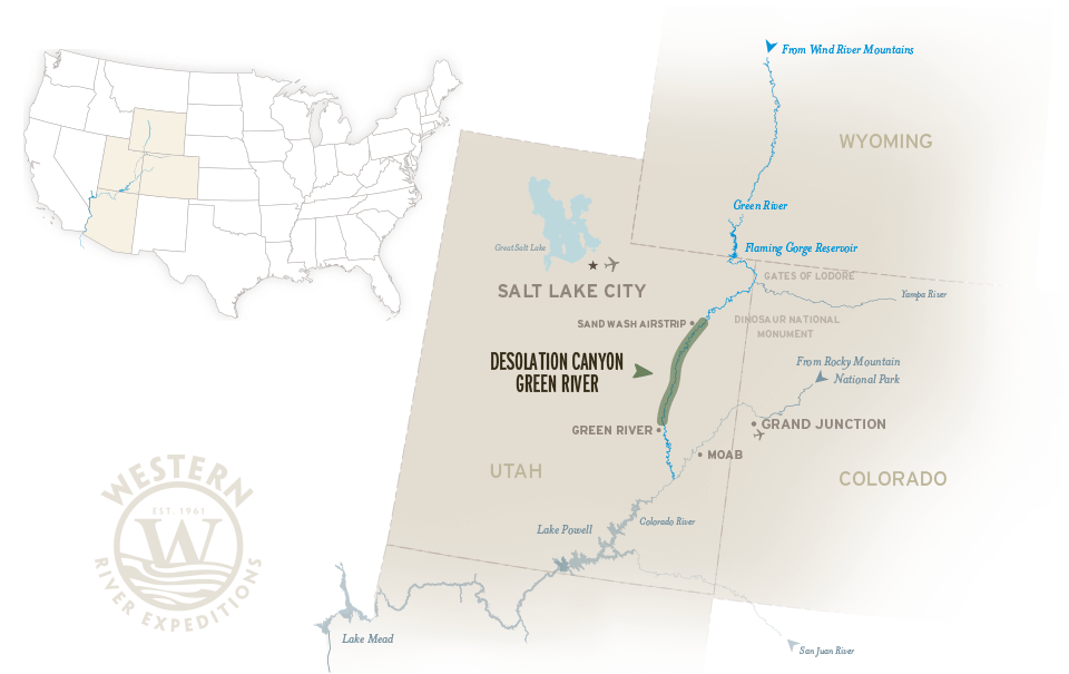 Green River Map