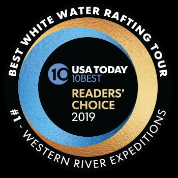 USA Today Reader's Choice - Western River #1 Best Tours in North America