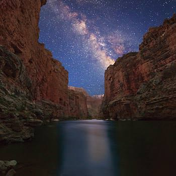 Milky Way in Marble Canyon