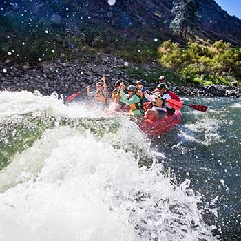 Snake River white water rafting