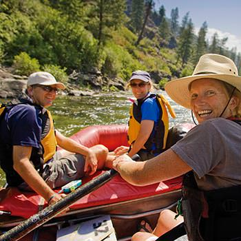 Rafts on the Middle Fork