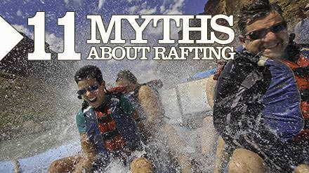 The myths of river rafting