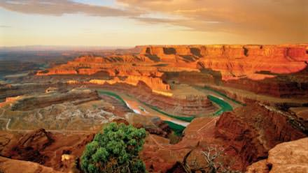 Often mistakenly labeled as Grand Canyon, this is just outside of Canyonlands National Park
