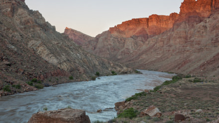 Cataract Canyon Sunrise River