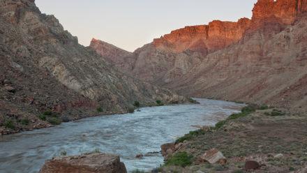 Colorado River in Cataract Canyon