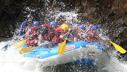 Costa Rica Vacation Package Pacuare Whitewater