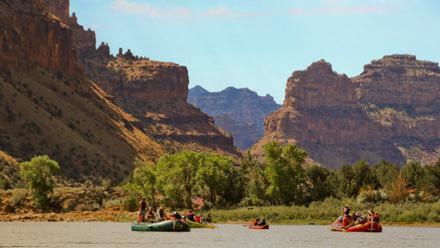 Desolation Canyon Utah Rafting America the Beautiful