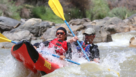 Desolation Canyon Utah Rafting Duckie Father Son