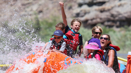 Desolation Canyon Utah Rafting Fist Pump