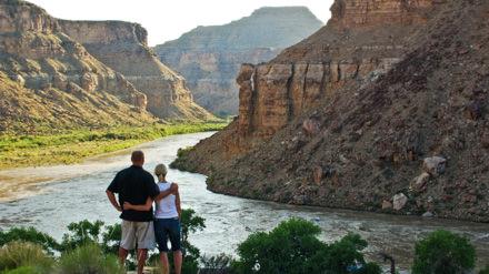 Desolation Canyon Utah Rafting Nefertiti Couple
