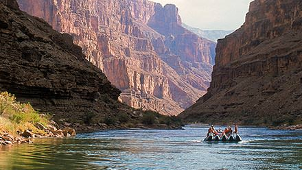 Whitewater rafting in Grand Canyon
