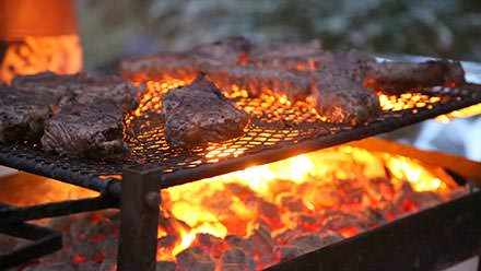 Grand Canyon Lower Steak Coals