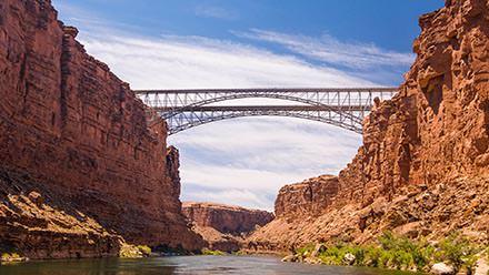 Grand Canyon Upper Bridges